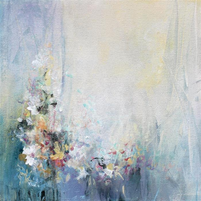Original art for sale at UGallery.com | Variations by KAREN HALE | $1,350 | Acrylic painting | 24' h x 24' w | http://www.ugallery.com/acrylic-painting-variations