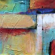 Abstract art,Non-representational art,Modern  art,acrylic painting,Aligned I