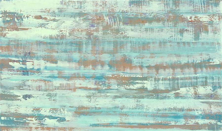 Original art for sale at UGallery.com | Gentle Haze by ALICIA DUNN | $3,250 | Acrylic painting | 36' h x 60' w | http://www.ugallery.com/acrylic-painting-gentle-haze