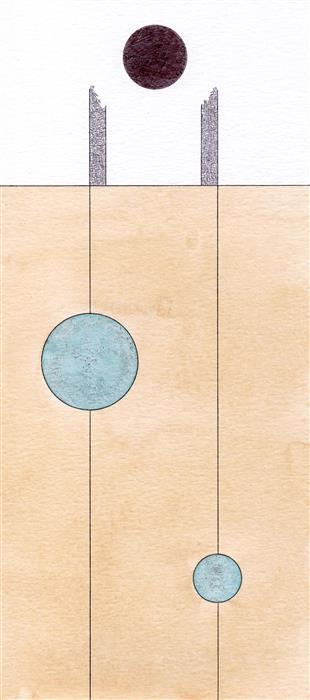 Discover Original Art by Jacob Rowan | Vignettes from the Desert V ink artwork | Art for Sale Online at UGallery