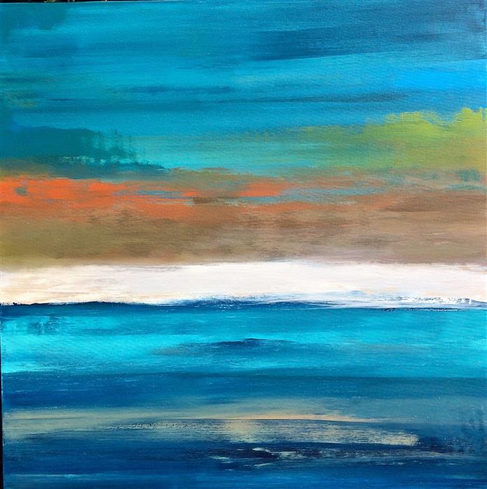 Discover Original Art by Alicia Dunn | Havana Daydreaming II acrylic painting | Art for Sale Online at UGallery