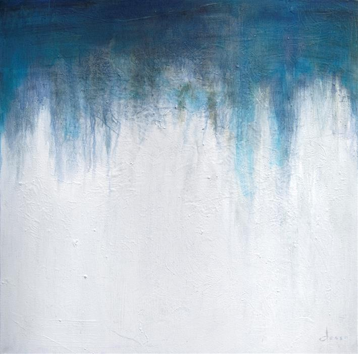 Discover Original Art by Anne Dosso-Powell   Waterfall oil painting   Art for Sale Online at UGallery