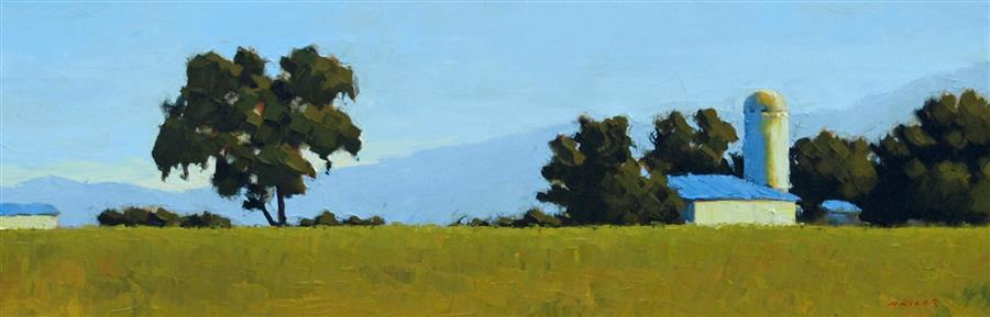 Discover Original Art by Rodgers Naylor | Pastoral Landscape oil painting | Art for Sale Online at UGallery