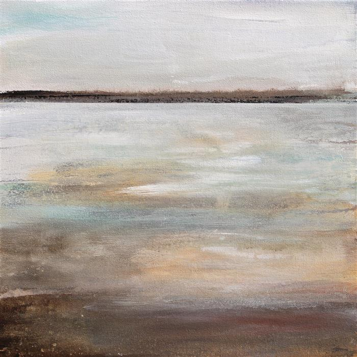 Original art for sale at UGallery.com | Shallow Water by KAREN HALE | $825 | Acrylic painting | 18' h x 18' w | http://www.ugallery.com/acrylic-painting-shallow-water-44947