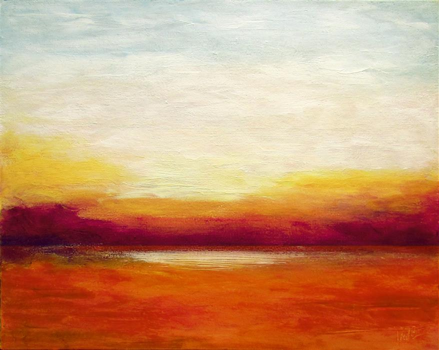 Original art for sale at UGallery.com | So Far Away by VALERIE BERKELY | $225 | Oil painting | 8' h x 10' w | http://www.ugallery.com/oil-painting-so-far-away
