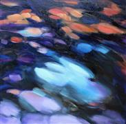 Abstract art,Impressionism art,Nature art,Non-representational art,oil painting,Jeweled Shadows II