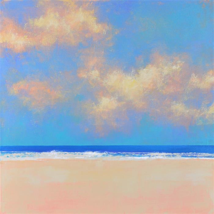 Discover Original Art by Don Bishop | Summer Blue acrylic painting | Art for Sale Online at UGallery