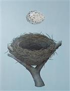 Animals art,Still Life art,Surrealism art,Representational art,mixed media artwork,Learning to Fly
