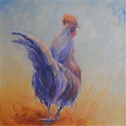 Animals art,Representational art,oil painting,Festive Vigilance 2