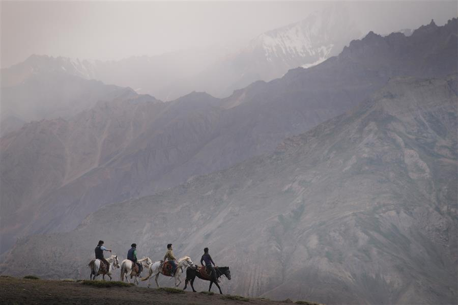 Original art for sale at UGallery.com | Spiti Horses by ETIENNE ROUDAUT | $220 |  | ' h x ' w | http://www.ugallery.com/photography-spiti-horses