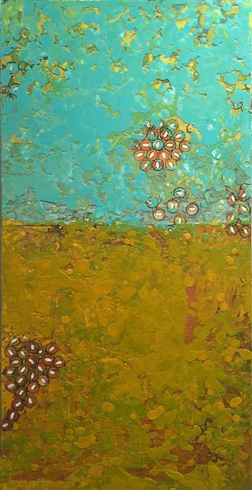 Discover Original Art by Annie Darling | I Like Wine, You Like Beer encaustic artwork | Art for Sale Online at UGallery
