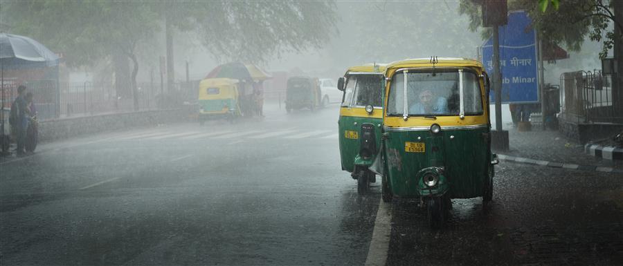 Original art for sale at UGallery.com | Delhi Monsoon by ETIENNE ROUDAUT | $295 |  | ' h x ' w | http://www.ugallery.com/photography-delhi-monsoon