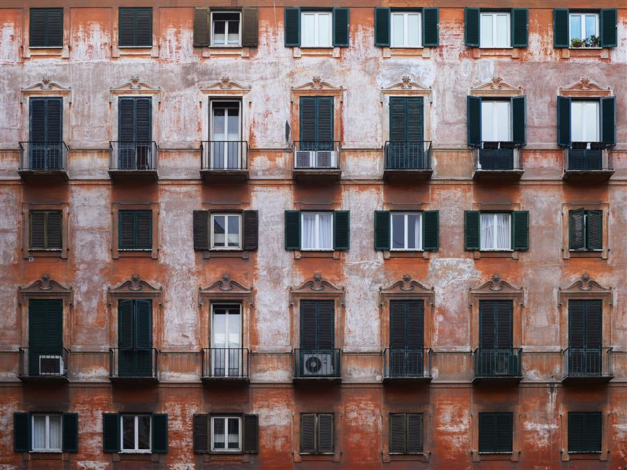 Original art for sale at UGallery.com | Rome Windows by ETIENNE ROUDAUT | $200 |  | ' h x ' w | http://www.ugallery.com/photography-rome-windows