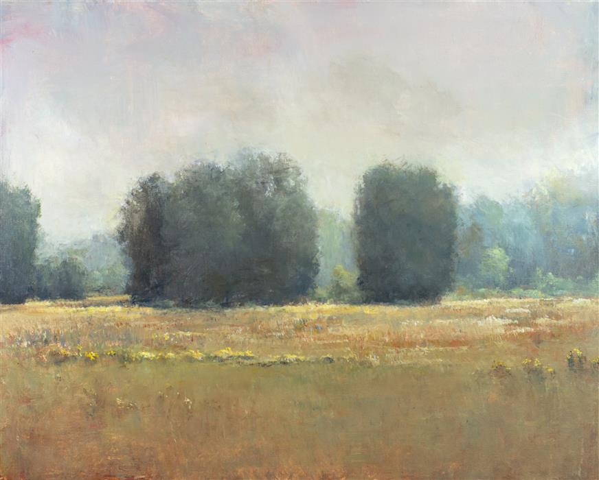 Discover Original Art by Don Bishop | Hazy Afternoon acrylic painting | Art for Sale Online at UGallery