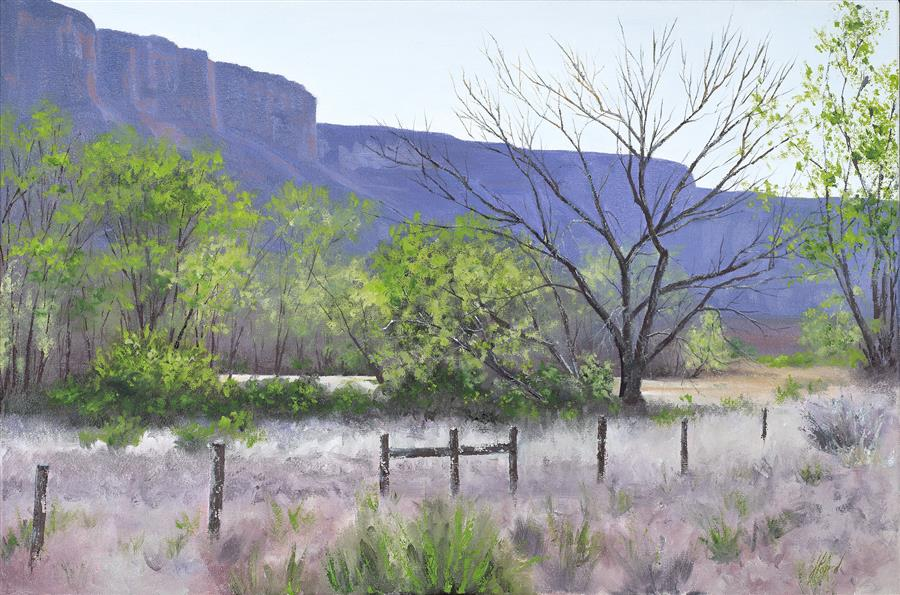 Discover Original Art by Jill E. Poyerd | Gateway to the Canyons oil painting | Art for Sale Online at UGallery
