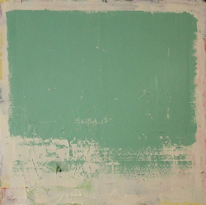Discover Original Art by Joey Korom | Green Cloud acrylic painting | Art for Sale Online at UGallery