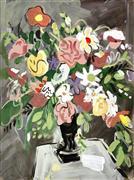 Impressionism art,Still Life art,Flora art,Representational art,acrylic painting,Opus 33, No. 4
