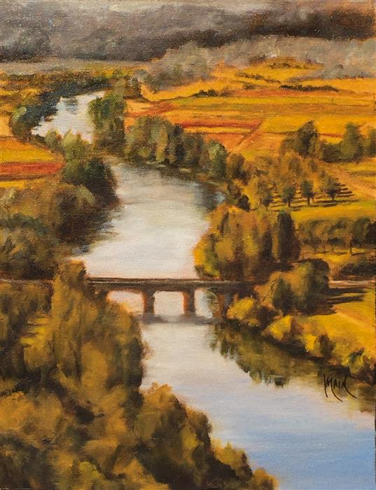 Discover Original Art by Mandy Main | Valley Orchard oil painting | Art for Sale Online at UGallery