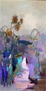 Impressionism art,Landscape art,Flora art,Representational art,oil painting,Sunflowers 3