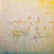 Abstract art,Flora art,Non-representational art,oil painting,Sweetly, Sweetly Float