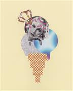 People art,Pop art,Surrealism art,Cuisine art,Representational art,mixed media artwork,Sprinkled Star