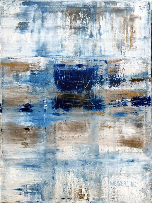 Original art for sale at UGallery.com | Heaven by JULIE WEAVERLING | $1,650 | Acrylic painting | 40' h x 30' w | http://www.ugallery.com/acrylic-painting-heaven