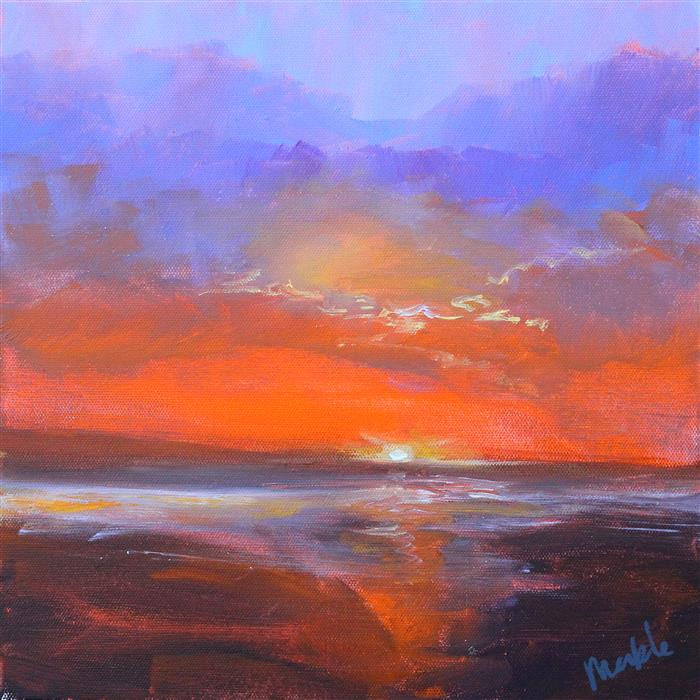 Original art for sale at UGallery.com | Cloud Light by NANCY MERKLE | $325 | Acrylic painting | 12' h x 12' w | http://www.ugallery.com/acrylic-painting-cloud-light