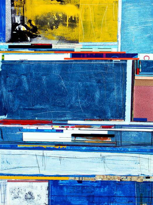 "Original art for sale at UGallery.com | Hemos Aprendido by JUAN GABRIEL PERÉZ BOTERO ""JUGA"" | $800 | Mixed media artwork | 31.4' h x 23.6' w | http://www.ugallery.com/mixed-media-artwork-hemos-aprendido"