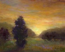Impressionism art,Landscape art,Classical art,Representational art,oil painting,The Stand
