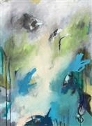 Abstract art,Non-representational art,acrylic painting,Ascending