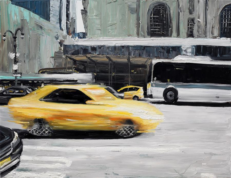 Discover Original Art by Piero Manrique | Speed oil painting | Art for Sale Online at UGallery