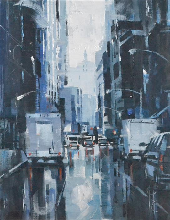 Discover Original Art by Garry Colby | Beautiful Rain oil painting | Art for Sale Online at UGallery
