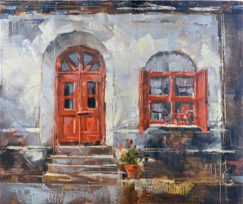 Discover Original Art by Garry Colby | Doorway to the Past oil painting | Art for Sale Online at UGallery