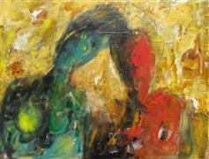 Expressionism art,Fantasy art,Representational art,acrylic painting,The Commitment