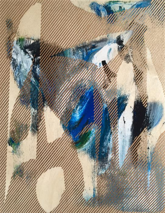 Discover Original Art by Mélisa Taylor | Mangata 42 mixed media artwork | Art for Sale Online at UGallery