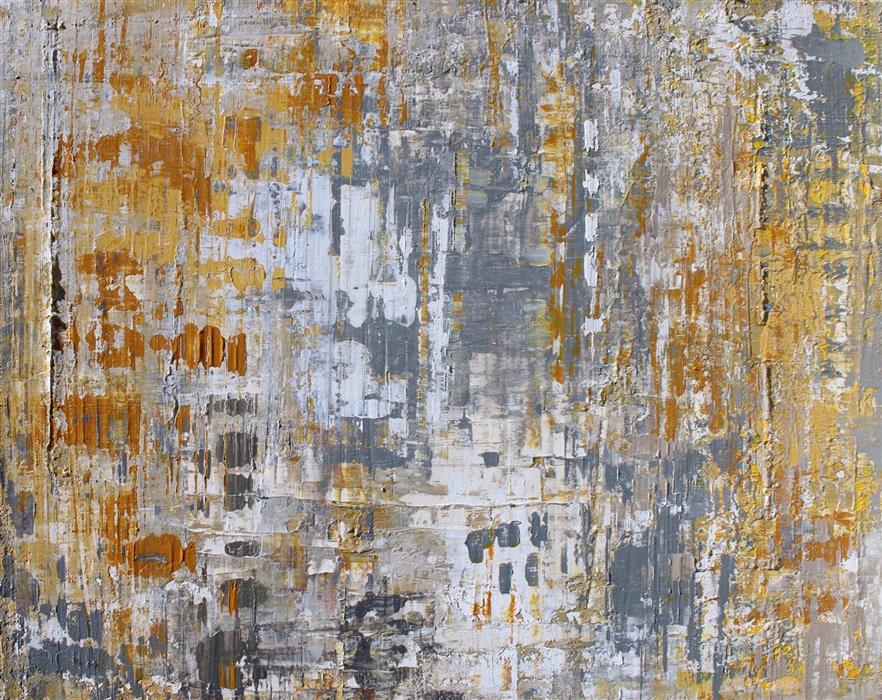Original art for sale at UGallery.com | In the Realms of Gold by IRENA ORLOV | $7,275 | Mixed media artwork | 36' h x 48' w | http://www.ugallery.com/mixed-media-artwork-in-the-realms-of-gold