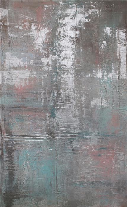 Original art for sale at UGallery.com | Calm Waters by IRENA ORLOV | $6,250 | Mixed media artwork | 48' h x 30' w | http://www.ugallery.com/mixed-media-artwork-calm-waters