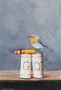 Animals art,Still Life art,Representational art,watercolor painting,Broken