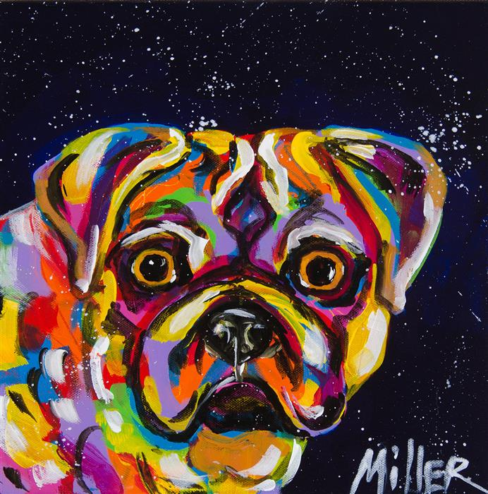 Discover Original Art by Tracy Miller | Surprise acrylic painting | Art for Sale Online at UGallery