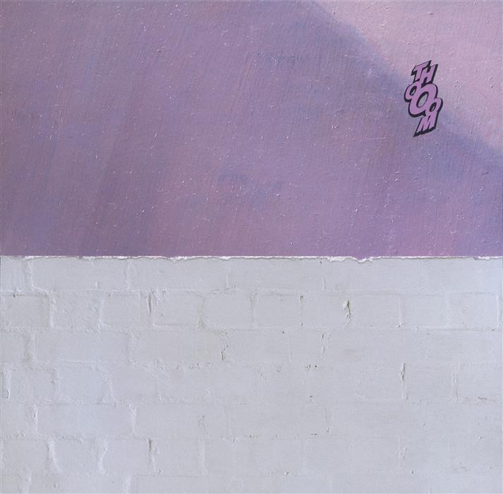 Original art for sale at UGallery.com | Landscape (Thooom) by DAVID LAVINE | $275 | Mixed media artwork | 7.75' h x 8' w | http://www.ugallery.com/mixed-media-artwork-landscape-thooom