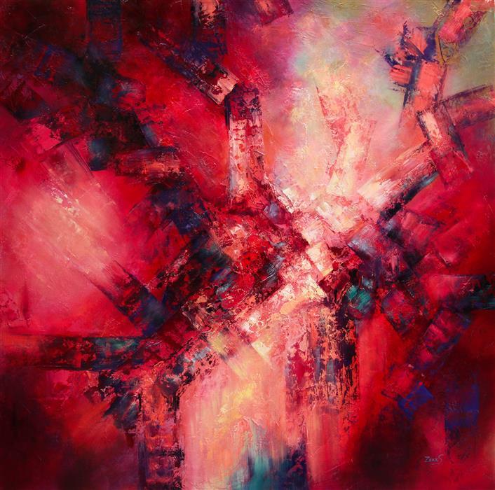 Discover Original Art by Sandra Zekk | Desire oil painting | Art for Sale Online at UGallery