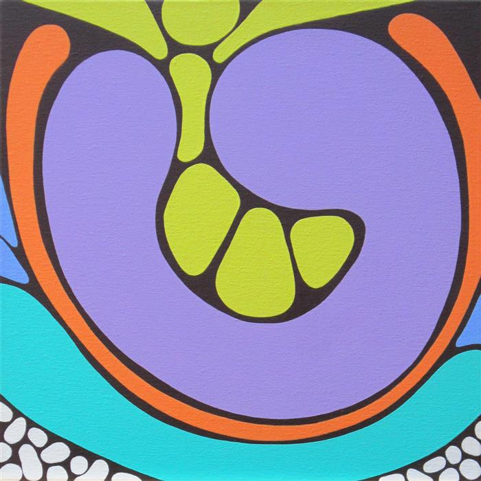 Discover Original Art by Liz Mamorsky | Seeds acrylic painting | Art for Sale Online at UGallery