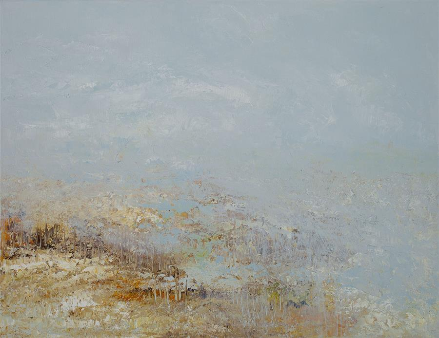 Discover Original Art by Ruth LaGue | At River's Edge acrylic painting | Art for Sale Online at UGallery