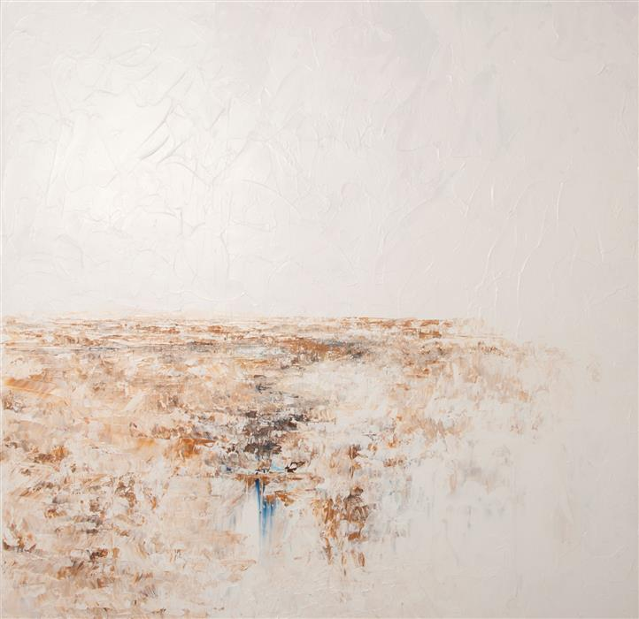 Discover Original Art by Ruth LaGue | The Falls acrylic painting | Art for Sale Online at UGallery