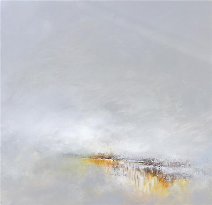 Original art for sale at UGallery.com | Swirling Storm by RUTH LAGUE | $2,600 | Acrylic painting | 30' h x 30' w | http://www.ugallery.com/acrylic-painting-swirling-storm