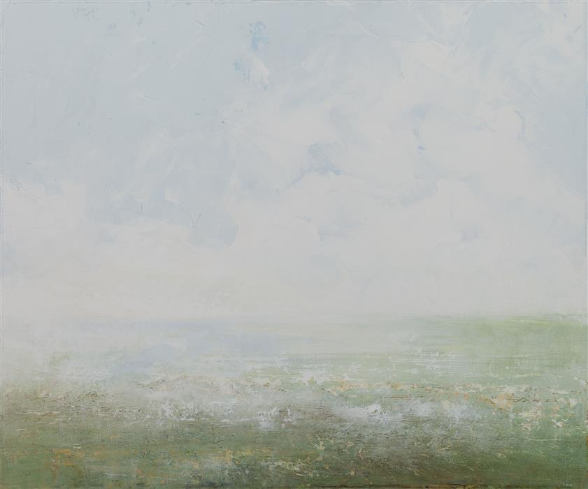 Original art for sale at UGallery.com | Clearing in the Fields by RUTH LAGUE | $725 | Acrylic painting | 20' h x 24' w | http://www.ugallery.com/acrylic-painting-clearing-in-the-fields