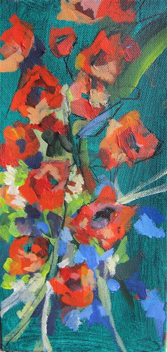 Discover Original Art by Colette Wirz Nauke | Floral Sunshine acrylic painting | Art for Sale Online at UGallery