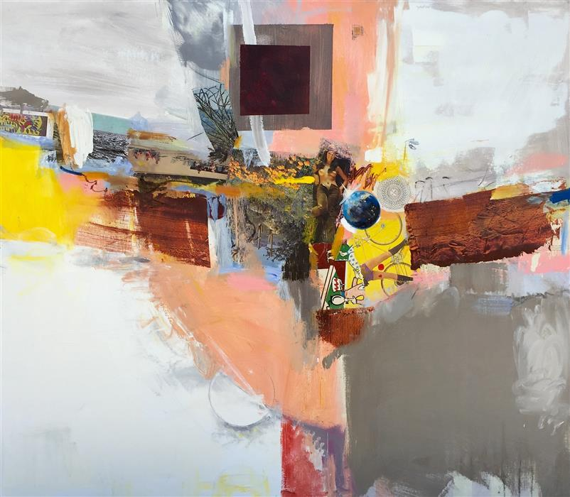 Discover Original Art by Scott Hunter | Hub mixed media artwork | Art for Sale Online at UGallery