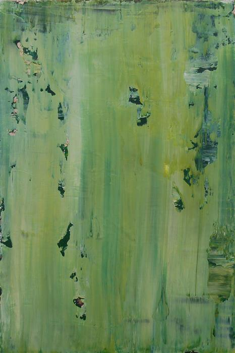 Original art for sale at UGallery.com | Corroding Moss by LISA CARNEY | $350 | Acrylic painting | 18' h x 12' w | http://www.ugallery.com/acrylic-painting-corroding-moss