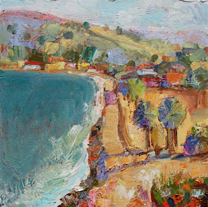 Original art for sale at UGallery.com | Beach Road by JAMES HARTMAN | $675 | Oil painting | 20' h x 20' w | http://www.ugallery.com/oil-painting-beach-road